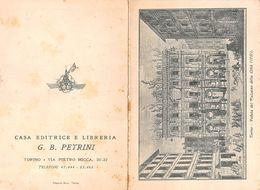 """07262 """"CALENDARIETTO 1953 - CASA EDITRICE E LIBRERIA - G.B. PETRINI - TORINO"""" VEDUTA DEL PALAZZO DELLA CITTA' 1737 - Calendars"""