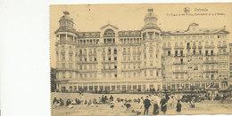Ostende - La Digue Et Les Hôtels Continental Et De L'Ocean - 1921 - Oostende