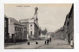 - CPA LILLERS (62) - Rue D'Aire (avec Personnages) - Edition J. Poriche - - Lillers