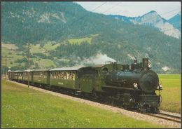 Rhätischen Bahn Dampf-Güterzuglokomotive G 4/5 Nr 107 - Reiju AK - Trains