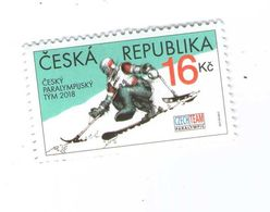 Czech Republic 2018 -  Paraolympic Games In South Corea, 1 Stamp, MNH - Andere