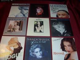 MADONNA  °  LOT DE 9 / 45 TOURS - Complete Collections