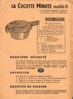 BUVARD LA COCOTTE MINUTE MODELE D - Wash & Clean