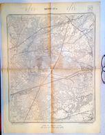 STAFKAART 17/1 Meting 1872 RETIE BRASEL DESSEL OPSTAL ACHTERBOS Mol TERLO Kasterlee WERBEEK STOKT ZELM MILLEGEM S393 - Retie