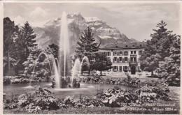 Glarus - Hotel Glarnerhof Mit Volksgarten Und Wiggis (522) * 16. IV. 1951 - GL Glarus