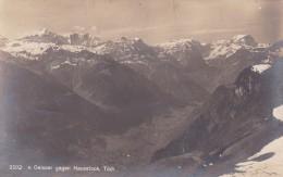 V. Geisser Gegen Hausstock, Tödi (2202) * 12. 7. 1929 - GL Glarus