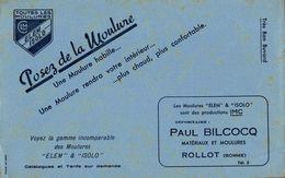 BUVARD MOULURES ELEM ISOLO PAUL BILCOCQ  A ROLLOT SOMME - Carte Assorbenti