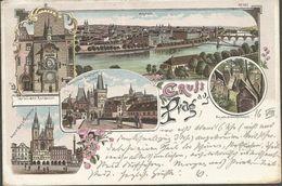 PRAG CZECH REPUBLIC, PC, Circulated 1897 - Czech Republic