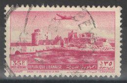 Liban - YT PA 70 Oblitéré - 1951 - Liban