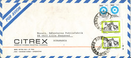 Argentina Air Mail Cover Sent To Denmark Buenos Aires 12-1-1982 - Airmail