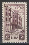 Liban - YT 96 Oblitéré - 1953 - Liban