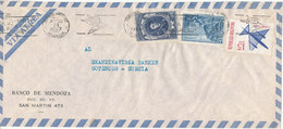 Argentina Air Mail Cover Sent To Sweden 30-8-1967 - Airmail