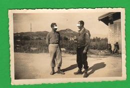 Ufficiale Americano Italia 1945 Uniform Divise Usa Military - Guerre, Militaire