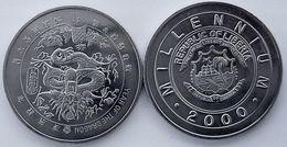 LIBERIA 2000 1 DOLLARO MILLENIUM FDC UNC - Liberia
