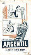 BUVARD NETTOYEUR ARGENTIL SIGNE COQ - Wash & Clean