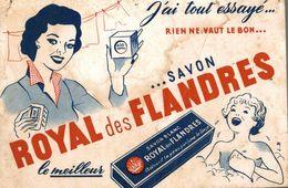 BUVARD SAVON ROYAL DES FLANDRES - Perfume & Beauty
