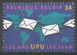 Belgium - 1999 UPU Anniversary MNH **    Sc 1733 - Unused Stamps