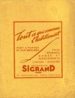 BUVARD  VETEMENT SIGRAND - Textile & Clothing