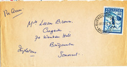 Argentina Cover Sent Air Mail To England 23-2-1970 - Argentina