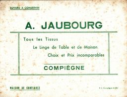 BUVARD  TISSU JAUBOURG A COMPIEGNE - Textile & Clothing