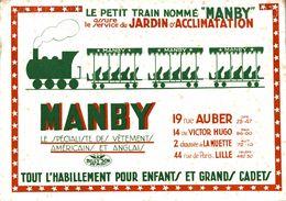 BUVARD  LES VETEMENTS MANBY A PARIS - Textile & Clothing