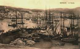 Genova. Genua. Il Porto - Genova (Genoa)