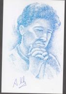 Autograph Alexander Khalifman, World Chess Champion 1999/2000. Special Chess Postmark 1999 - Historical Famous People