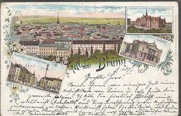 BRNO BRUNN CZECH REPUBLIC, PC, Circulated 1898 - Tchéquie