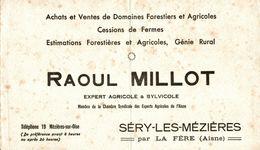 BUVARD  EXPERT AGRICOLE RAOUL MILLOT A SERY LES MEZIERES - Farm