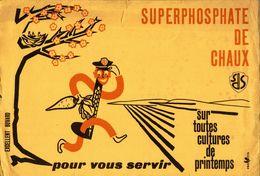 BUVARD  SUPERPHOSPHATE DE CHAUX - Agriculture