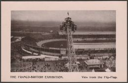 View From The Flip-Flap, Franco-British Exhibition, 1908 - Davidson Bros RP Postcard - Exhibitions