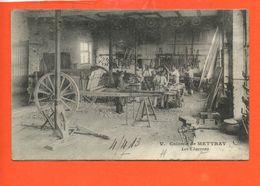 37 METTRAY - Les Charrons (carte Recollée) - Mettray