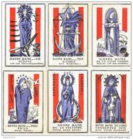 SERIE COMPLETE 12 IMAGES PIEUSES PATRIOTIQUES DATEES 1940 GABRIEL LOIRE SAINTE   JEANNE D ARC THERESE SAINT MICHEL LOUIS - Religion & Esotericism