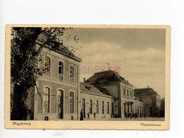 Nagykároly  Carei  Careii Mari Großkarol Vasútállomás Station Bahnhof - Romania