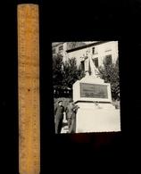 Photographie Photo ANNONAY Ardèche : Statue De Marc SEGUIN En 1960 Inventeur Pont Suspendu Et Locomotive à Vapeur - Lieux