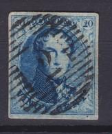N° 7 Margé Peception 2 ALOST  Planche III Position 83 RETOUCHE - 1851-1857 Médaillons (6/8)