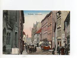 Budweis České Budějovice Wienergasse Tramway Straßenbahn - Tchéquie