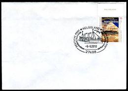 01529) BRD - Brief Michel 2819 - SoST Vom 09.09.2010 In 27498 HELGOLAND, Historischer Seebäderdienst SD COBRA - Poststempel - Freistempel