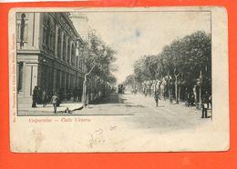 Valparaiso - Calle Victoria (pliée) - Chili