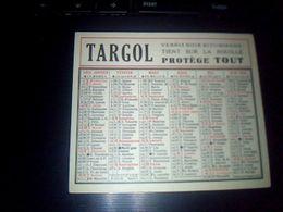 Publicitee  Calendrier De 1955 Publicitaire Targol Vernis Bitumeux Tien Sur La Rouille Protege Tout - Big : 1941-60
