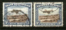SWA - Südwestafrika - South West Africa 1931 - Michel Nr. 164 - 165 O - Südwestafrika (1923-1990)