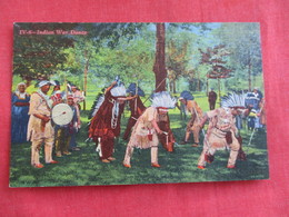 Indian War Dance  = Ref 2812 - Native Americans