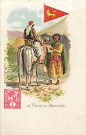 Pays Div-ref K865- Ethiopie - Ethiopia - Illustrateurs - Dessin Illustrateur -la Poste En Abyssinie - Timbre - - Ethiopie