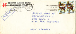 Malaysia Cover Sent Air Mail To Malaysia Kuala Lumpur 15-6-1979 Topic Stamps BUTTERFLIES - Malaysia (1964-...)