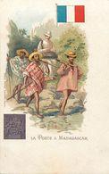 Pays Div-ref K864- Madagascar  - Illustrateurs - Dessin Illustrateur -la Poste -post Office  - Timbre - - Madagascar