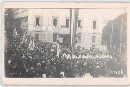 """07275 """"BERGAMO - CONGRESSO CATTOLICO - PROCESSIONE"""" ANIMATA.  FOTOGRAFIA ORIGINALE 1920 - Places"""