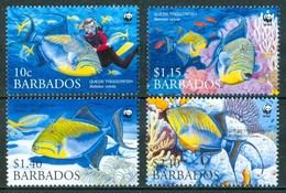 2006 Barbados Pesci Fishes Poissons MNH** A133 - Barbados (1966-...)