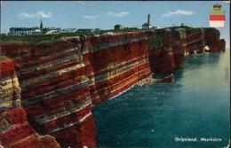 Ansichtskarte Helgoland (Insel) Westküste - Heraldik 1913 - Sin Clasificación