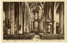 Halle   Binnenzicht Der Kerk  Naar Het Koor - Halle