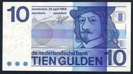 Netherlands - 10 Gulden 1968 - P91b - [2] 1815-… : Kingdom Of The Netherlands